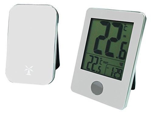 60 m kabellos weiß Otio 936067 Thermometer innen//außen