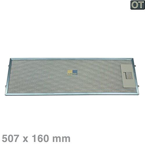 Fettfilter Metall Dunstabzugshauben AEG-Electrolux Juno 510mmx160mm 5026384900